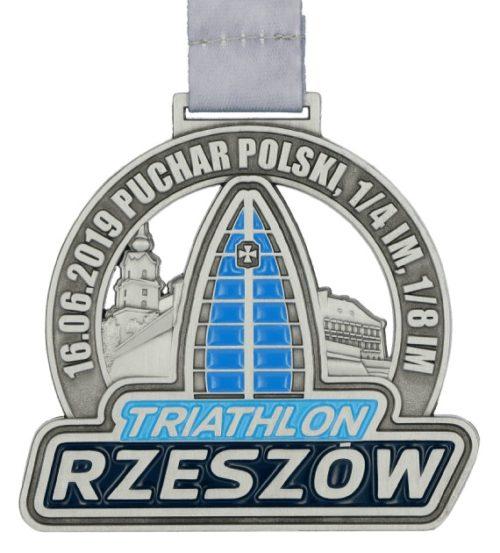 Medale rzeszów - triathlon 2019