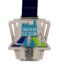 Medal odlewany Triathlon Szczecin