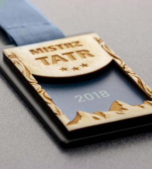 Medal z nadrukiem Mistrz tatr