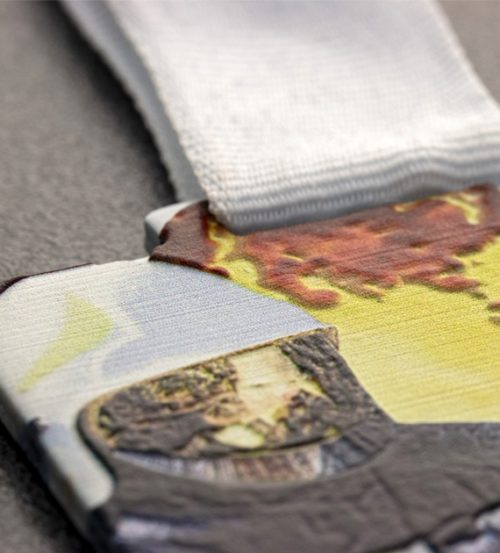 Medal z nadrukiem q-medals standard plus strażak