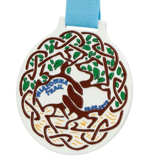 Medal z nadrukiem q-medals standard plus wiązowna trail