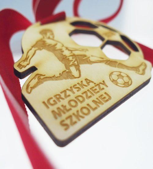 Medal drewniany z grawerem