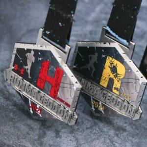 Medale na Runmageddon