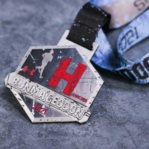 Medal na Runmageddon - Hardcore