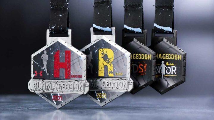 Medale Runmageddon przygotowane na pierwszy bieg w lutym