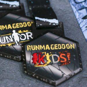 Medal na Runmageddon dla dzieci