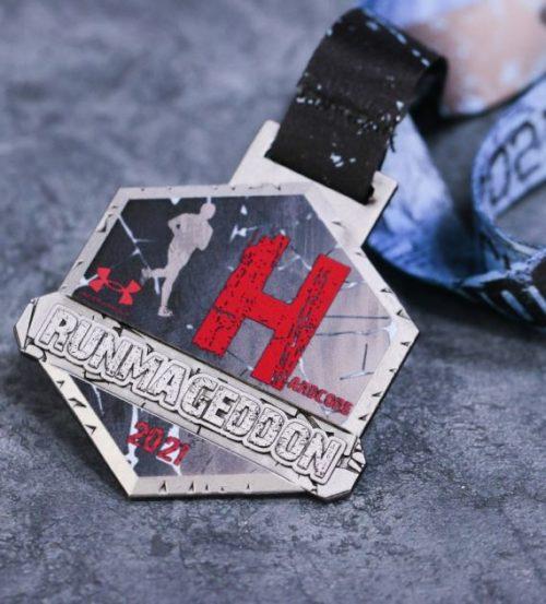 Medal Runmageddon hardcore