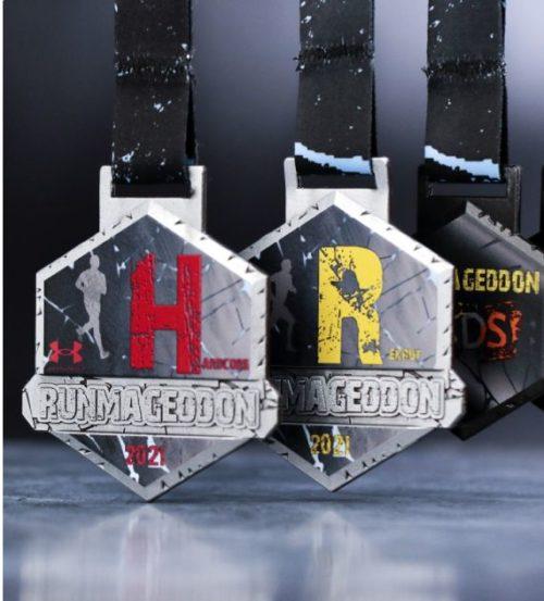 Medale na Runmageddon 2021