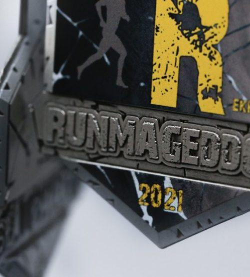 Medal Runmageddon rekrut