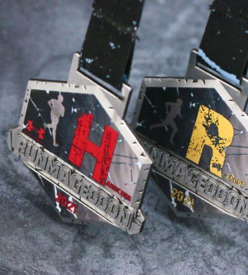 Medal Runmageddon hardcore oraz rekrut