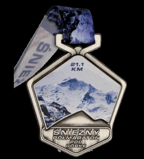 Śnieżny Półmaraton - wirtualny bieg pod górkę